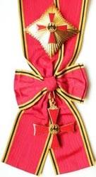 Großes Verdienstkreuz mit Stern und Schulterband (Damenausführung)